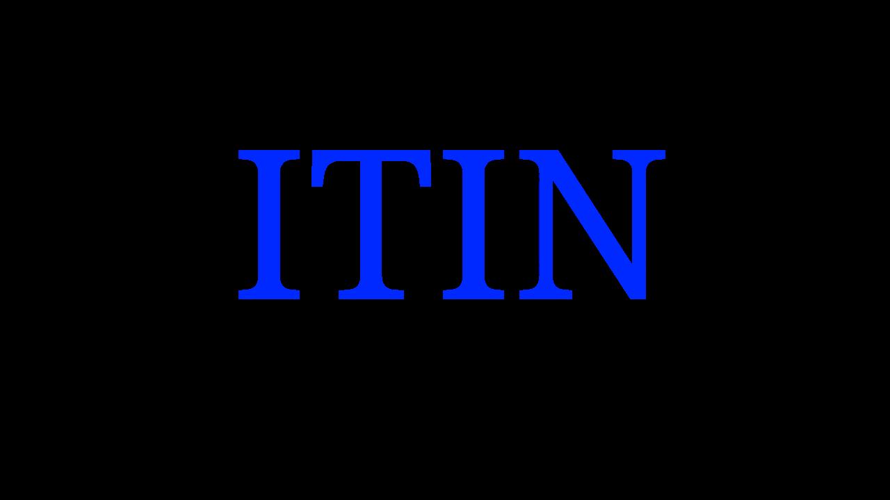 个人报税号码 ITIN